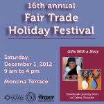 Fair Trade Holiday Festival