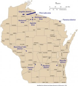 Iron Ore in Wisconsin