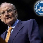 George McGovern luncheon with the United Nation