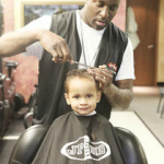 Aaron Perry Broadcasts Live At The Barber Shop
