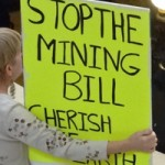 Passage of the Mining Bill