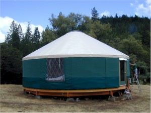 THIS IS A YURT