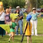 The Annual Cardboard Animal Parade