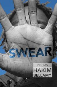 The cover of Bellamy's new book Swear.