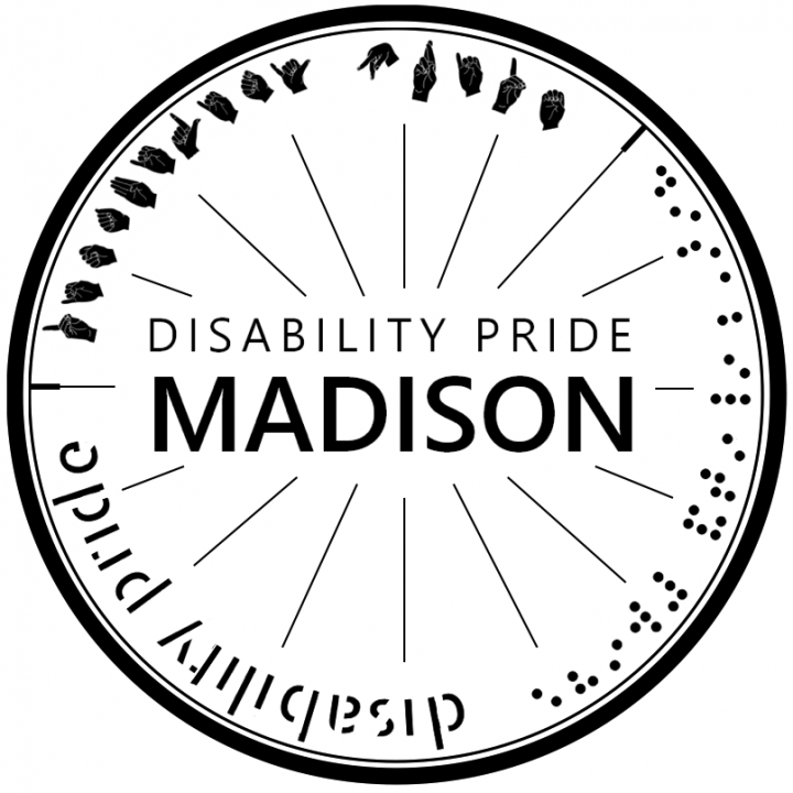 logo for Disability Pride Madison