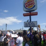 Madison Fast Food Workers Walk Out