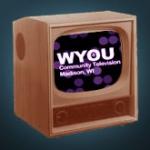 T.V. with WYOU logo