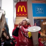 Corporate Retaliation on Fast-Food Strikers