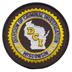 WI Division of Criminal Investigations patch