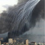 White Phosphorus above Gaza