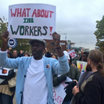 Workers Rally For Min. Wage Increase