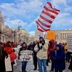Hundreds Protest Walker's UW Proposal