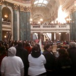 Menominee March on Capitol