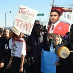 Hundreds of Students March for Tony Robinson