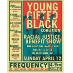 YGB benefit concert poster