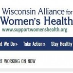 Sara Finger and the WI Alliance for Women's Health