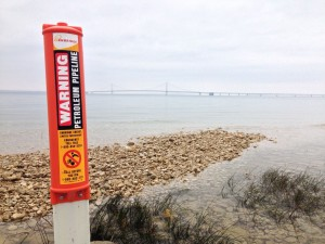The Oil Pipelines that Dwell Under the Great Lakes