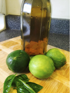 Basil Gimlet Recipe1