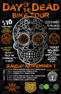 Day of the Dead Bike tour poster
