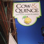 This Is What I Ate: Cow & Quince (New Glarus)
