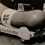 Wienermobile with added cockpit, 1936, Oscar Mayer Foods Corporation, Madison, WI