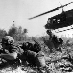 Combat operations at Ia Drang Valley, Vietnam