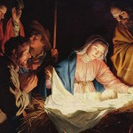 The Adoration of the Shepherds by Gerard van Honthorst