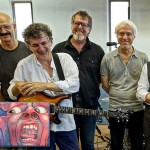 Image of the King Crimson band members.