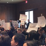 Students Disrupt Regents Meeting, Call For Action On Racial Diversity