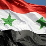 Source: https://upload.wikimedia.org/wikipedia/commons/3/32/The_flag_of_Syrian_Arab_Republic_Damascus,_Syria.jpg