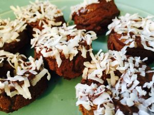 Sara's Table: Chocolate Coconut Doughnuts