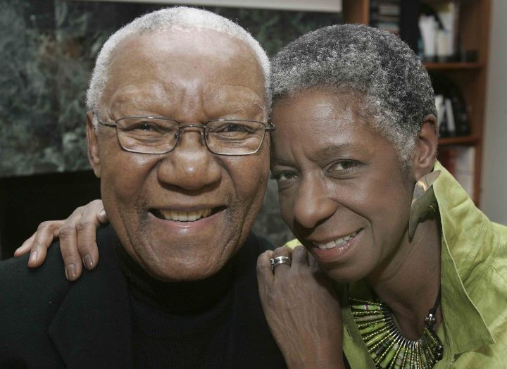 Daniel Kunene and his wife Marci in 2006; photo by Michelle Stocker courtesy The Capital Times.