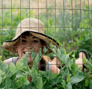 Lauren Rudersdorf, farmer at Raleigh's Hillside Farm.