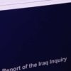 Cover of a volume of the Chilcot report or Iraq inquiry