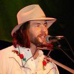 Folk singer Teddy Davenport