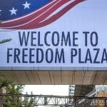 Welcome to Freedom Plaza