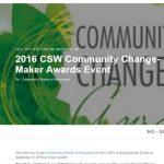 CSW Change-Makers Awardees