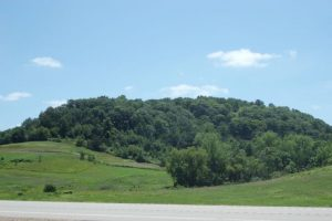 Today the Ocooch Mountains are called the Driftless Area.