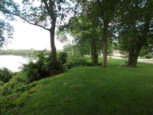 The Rock River running by Prophetstown, Illinois