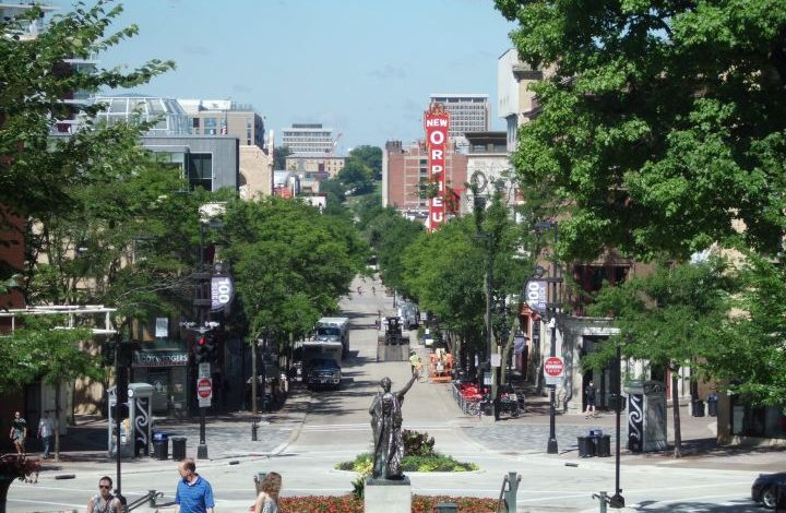 Then down what is now State Street and through the University of Wisconsin campus to what is now Middleton.