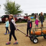 Steve Pincus and Beth Kazmar: Gleaning Day at Tipi Produce