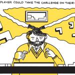 Box Brown on illustrating the creation of Tetris