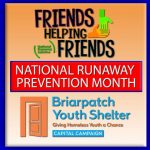 November Is National Runaway Prevention Month!