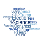 Science in the 2016 election