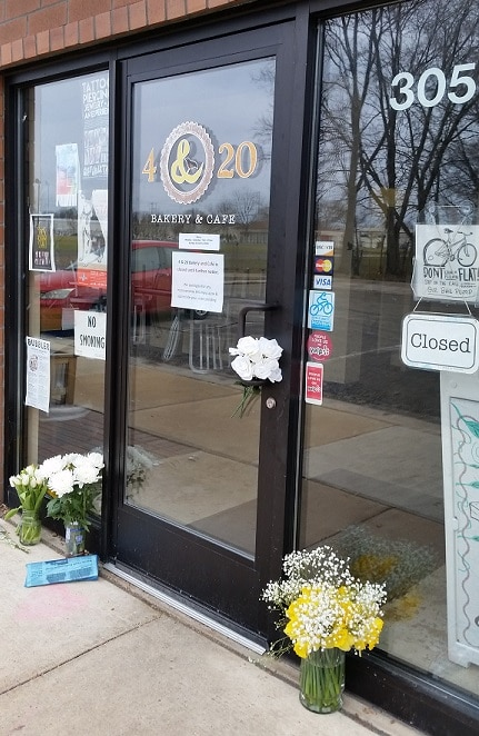 In Memory of Mandy Puntney and the 4 & 20 Bakery