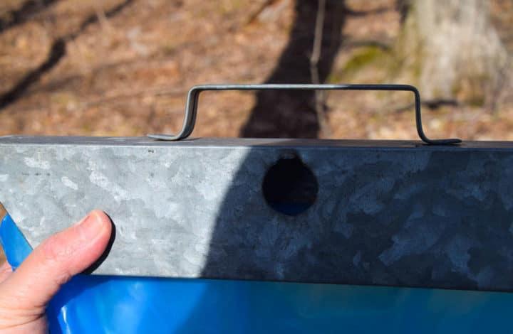 Sap hanger frame with hole