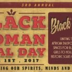 Black Woman Heal Day
