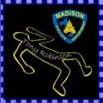 Image of body outline and Madison Police Emblem.