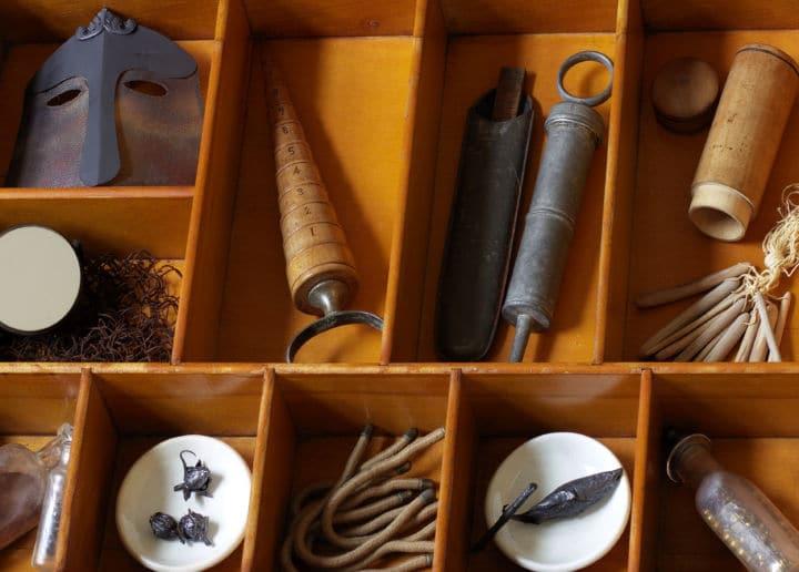Martha Glowacki's cabinet of curiosities