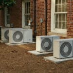 Photo of outdoor air conditioning units from wikimedia.org